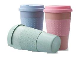 Wheat insulated coffee cup 400Ml