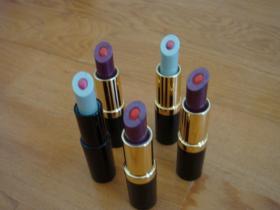 실리콘 2 색깔 립스틱