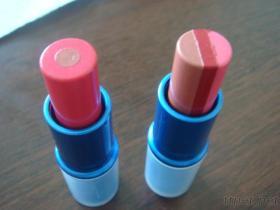 2 kleuren & de Lippenstift van 3 Kleuren