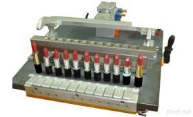 Luft-Durchbrennenejektor für 2 Farben-Silikon-Firmenzeichen-Lippenstift