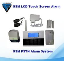 FI603 Touch Screen GSM Alarm System Dual Network