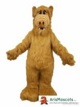 Adult Size Monster Mascot Costume fur mascots made Custom Advertising Mascots