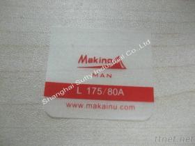 Custom Soft Transparent Printed Tpu Clothng Label for Jacket, Underwear