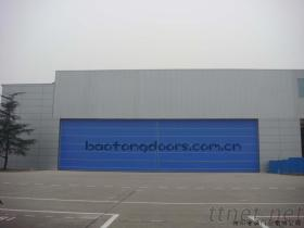 Fabric Lifting Hangar Door