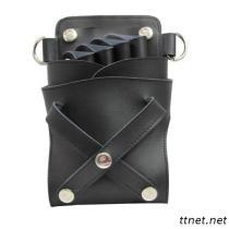 JM-2N0401 Professional Hair Scissors Of Belt Bag, Hair Salon Scissors Bag, Hairdressing Scissors Bag