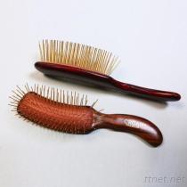 #8601 de professionele Geplateerde Spelden van de Borstel van het Haar Goud, de Borstel van de Salon van het Haar