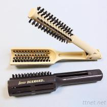 CM-2100 직업적인 머리 솔질하 강모 핀, 머리 편평한 클립 솔, 클립 빗, 머리 브러쉬