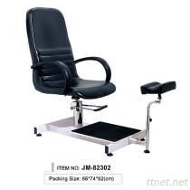 JM-82302 Salon Hydraulic Pedicure Chair, Massage Chair, Nail Beauty Chair, Stool with Gas