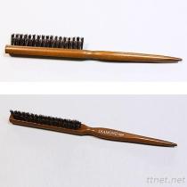 #989 محترف شعر فرشاة [3-لينس] هلب دبابيس, خشبيّة مقبض شعر فرشاة, [هير سلون] فرشاة
