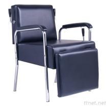 Chaises étendues professionnelles du shampooing JM-83427, chaise de shampooing de salon, l'ameublement de salon, chaise de beauté, chaise de massage