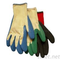 Garden Gloves, Latex Coated Glove