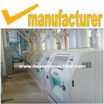 50 Ton Maize Flour Milling Machine, Wheat Flour Production Line