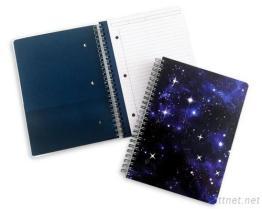 Galaxy small wire-O bound notebook