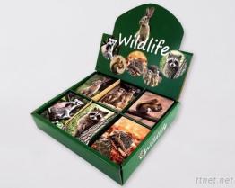Wildlife memo pad