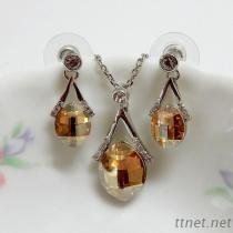 De Reeks van de Juwelen van de Manier van het Kristal van Swarovski