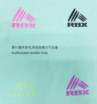 RBX LOGO Heat Transfer Label