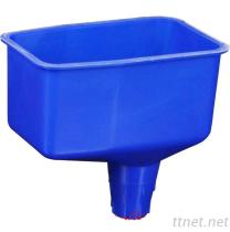 Lockable Plastic Oil Funnel 2 Pint No Spill Plastic Filling Funnel