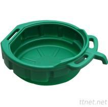 15 PE van de liter het Plastic Dienblad van de Druppel van het Water van het Afvoerkanaal van de Recycleermachine van de Olie Pan Vloeibare