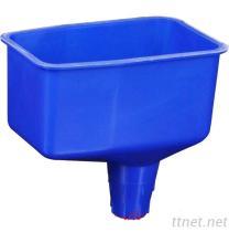 De afsluitbare Plastic Trechter van de Olie 2 Pint Geen het Plastic Vullen van de Morserij concentreert