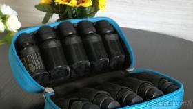 Travel Essential Oil Bottle Bag