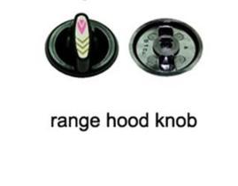 Range hood knob 2