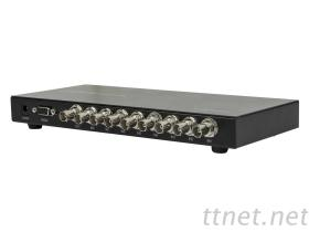 3G SDI 1×16 Splitter with Reclock