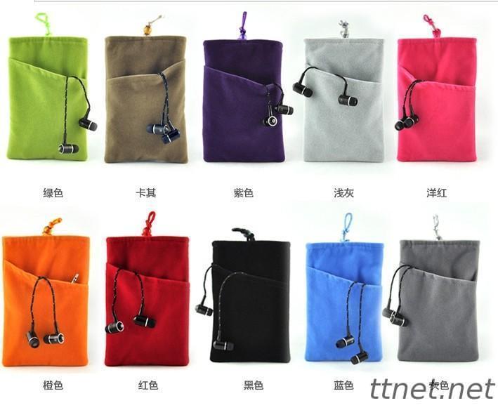 Velvet  Cell phone Drawstring Bags, Velvet Gift Bags(M76)