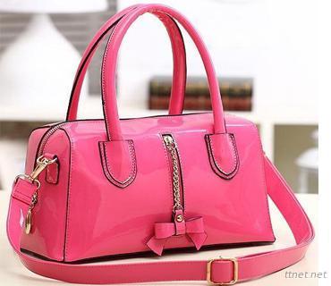 Leather Ladies Handbag (H76)