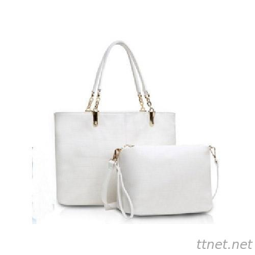 PU Leather Ladies Handbag Sets, woman bag (H73)