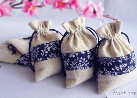 Cotton Drawstring Gift Bags( V542)