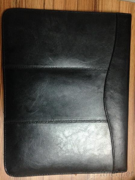 Leather Portfolio File,document Pouch, notebook  (N92)