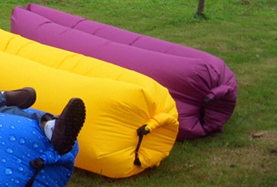 Hangout Inflatable Air Laybag, Air Sofa, air lay bed ( B676)