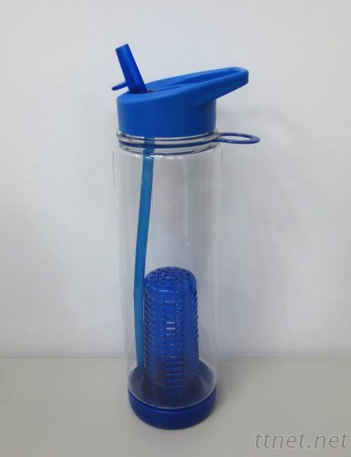Tritan Single Wall Bottle With Filter & Straw