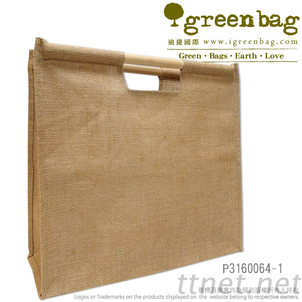 HandBag-Jute, Jute, Environmental Bag, Shopping Bag, Canvas Tote ...
