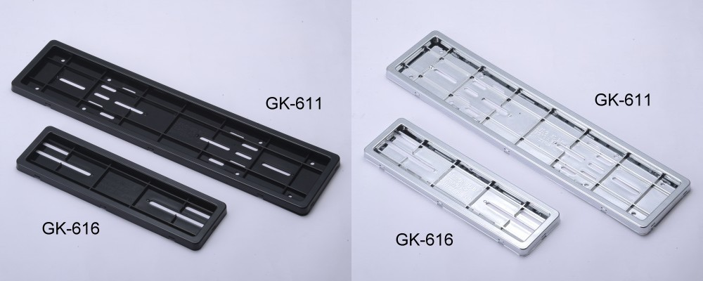 Gk 618 license frame taiwan gk 618 license frame card box is simple to install diy yourself installation protection plates washing afraid of a collision wear any new license plates for cars solutioingenieria Images
