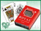 Royal單副裝塑膠撲克牌