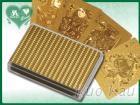 金銀壓紋塑膠卡, 撲克牌