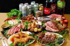 經濟烤肉套餐組多種任選(有素食烤肉套餐組)