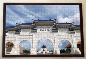 客制化照片拼图(500片)加高级木框