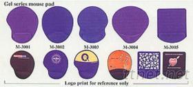 M-3001~5 矽膠布面滑鼠墊