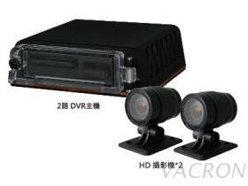 2路 H.264 HD  机车用监控系统