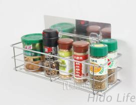 不鏽鋼無痕掛勾 廚房、衛浴瓶罐置放架