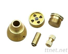CNC車床加工銅製品
