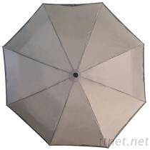 實用三折自動傘