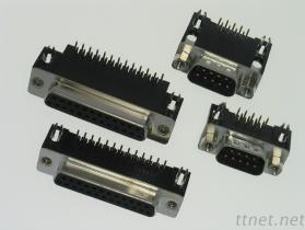 D-SUB 板端90度連接器 端子
