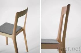 木製家具-木椅+泡棉座墊