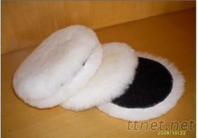 羊毛球, 表面處理拋光增亮羊毛球