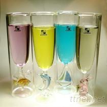 專利造型雙層玻璃杯