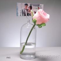 玻璃圓筒迷你花器