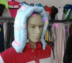 MTI 新款素防災頭套, 防震頭套, 花布, 2色-晉鴻